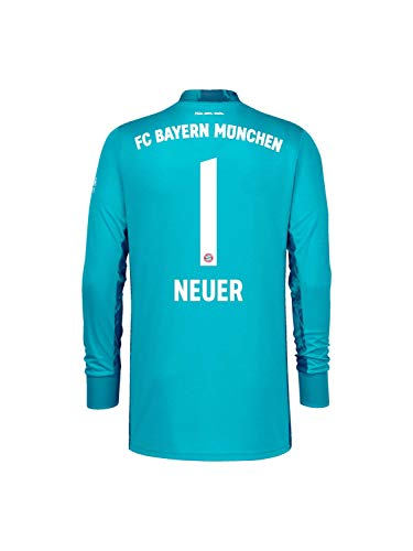 FC Bayern München Torwart-Trikot Saison 2020/21, Gr. M, Manuel Neuer