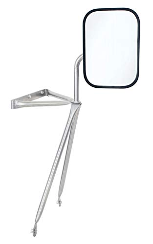 United Pacific Stainless Steel Swing Away Mirror