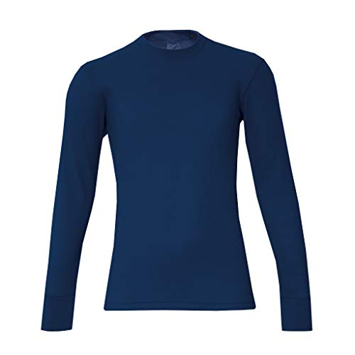 WATSONS Watson's Jungen-Unterhemd, Waffelmuster, Marineblau, XL
