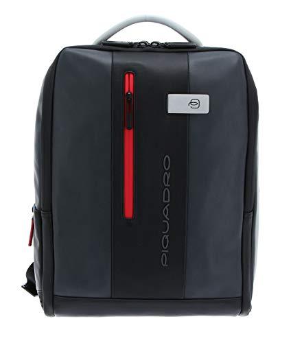 Zaino Porta Computer 15.6 con Tasca Davanti Verticale   Piquadro Urban   CA4818UB00-Grigio/Nero