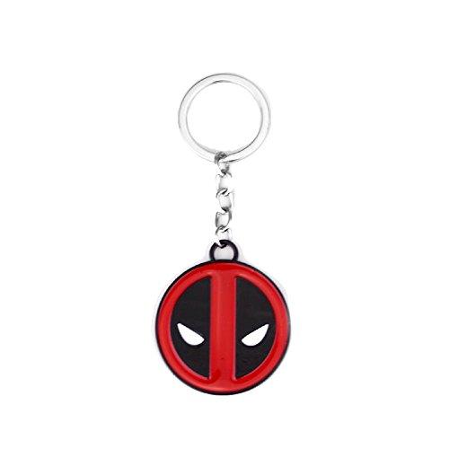 Deadpool Superhelden-Comics Schlüsselanhänger aus massivem Metall