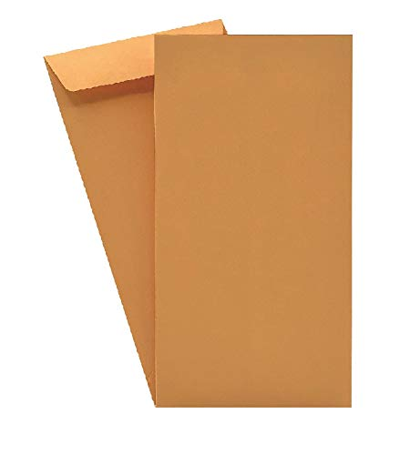 500 Cashier Depot Coin/Cash/Small Parts #7 Brown Kraft Envelopes, 3-1/2 X 6-1/2, 500/Box Item# SY420