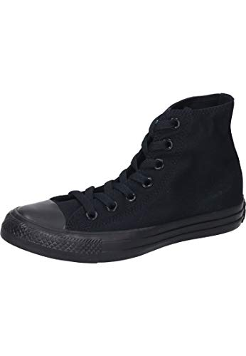 Converse Unisex M3310C C Taylor A/S Hohe Sneaker,Schwarz (Black Mono), 41