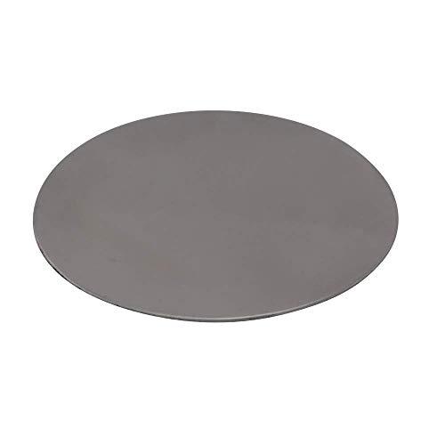 K W Metallscheibe für Räuchersieb – gegen Durchtropfen – zur Hitzereduzierung - D 5 cm