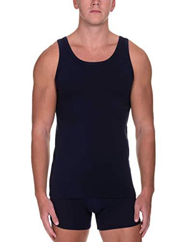 bruno banani Herren Sportshirt Infinity Unterhemd, Blau (Dunkelblau 090), (Herstellergröße: XX-Large)