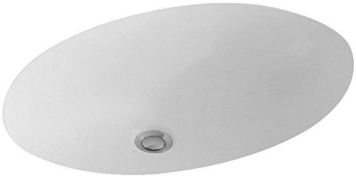 Villeroy & Boch Unterbau-Waschtisch Evana 50 cm ohne HLbank Überl Oval Außenseite glasiert Weiß