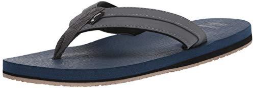 Billabong Men's All Day Impact Cush Sandal Flip-Flop, Navy, 10 Regular US