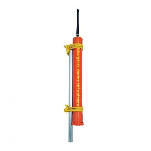 Nordwest-Funk RA114 Glomex Notantenne für UKW-Seefunkanlagen Orange