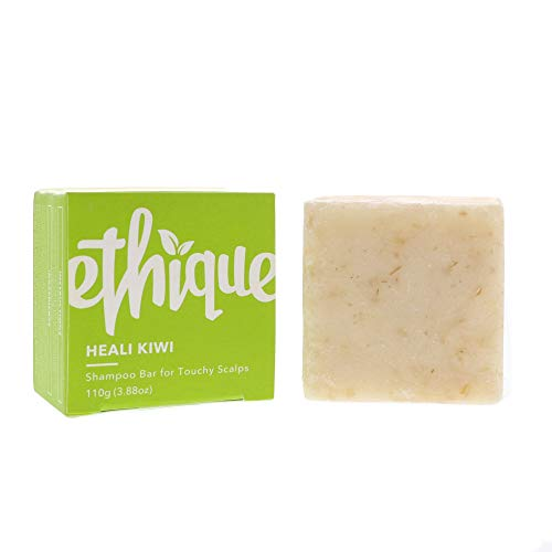 Ethique Eco-Friendly Solid Shampoo Bar for Dandruff & Touchy Scalps, Heali