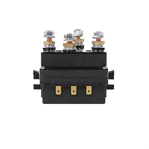 DHTENG Controlador de relé solenoide del cabrestante 500A DC Interruptor 4WD 4x4 Boat ATV Control