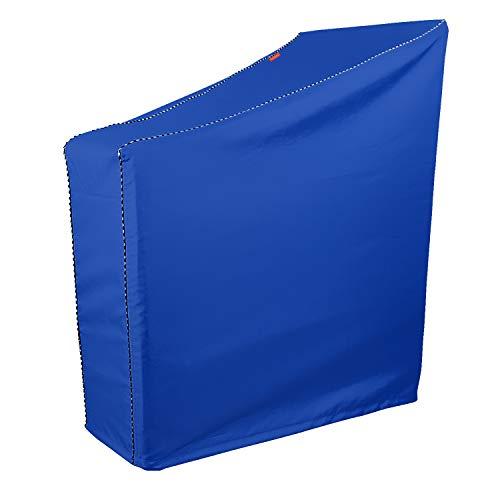 AlaSou Heimtrainer-Abdeckung, zusammenklappbar, für Heimtrainer, aufrechtes Fahrradfahren, Blau