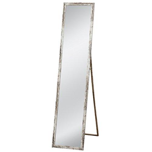 Standspiegel Melificent Breitel: 34 cm Höhe Artikel: 155 cm Farbe: Weiß