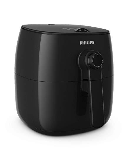 Philips Airfryer Turbostar, Heißluftfritteuse (ohne Öl, 60 Tage risikofrei testen) schwarz HD9621/90