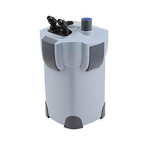 Polar Aurora 265GPH / 370GPH / 525GPH External Aquarium Filter with Builtin Pump...