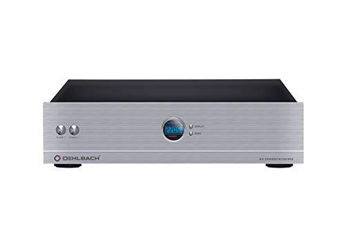 Oehlbach XXL Powerstation 909 - High-End HiFi Mehrfach-Steckdose - Mantelstromfilter, Überspannungsschutz & Delay-Funktion - Silber