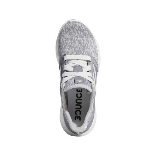 adidas Women's Edge Lux 3 Running Shoe, grey/cloud white/silver metallic, 8.5 M US 2