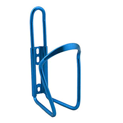 yaoyan Ultraligero aleación de Aluminio Bicicleta Botella de Agua Titular Jaula MTB Bicicleta de Carretera Botellas de Bebida Montaje en Rack Accesorios de Ciclismo - Azul