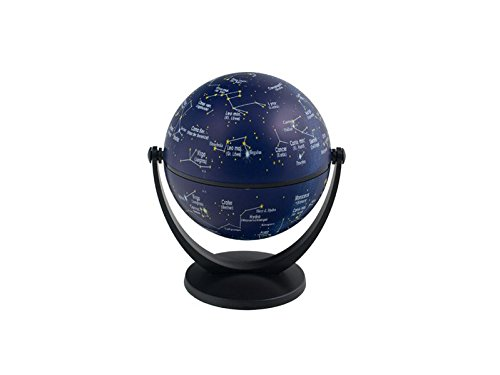 10 cm Dreh- Schwenk Globus: Sternenhimmel