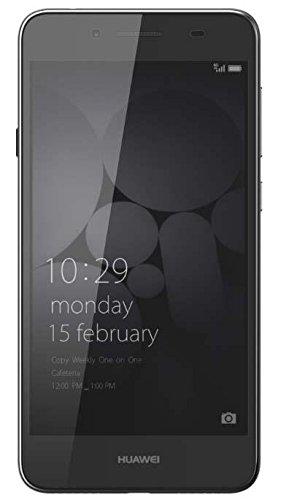 Huawei LYO-L21 Y6 II Compact LTE Dual SIM Smartphone (12,7 cm (5 Zoll), 16GB, 2 GB RAM Speicher, 1280 x 720 Pixel, Android 5.1 Lollipop) schwarz