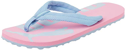 Puma Unisex Kids EPIC FLIP V2 PS Flipflop, Sachet Pink-Forever Blue-Island Paradise, 29 EU