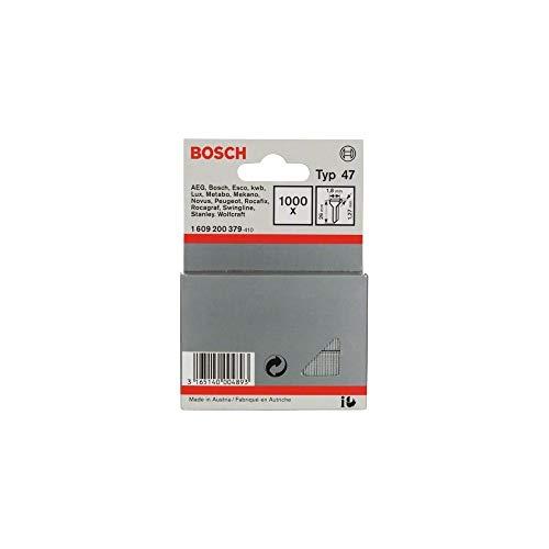 Bosch 1609200379-1.000 x Chiodi tipo 47, 1,8 x 1,27 x 26 mm