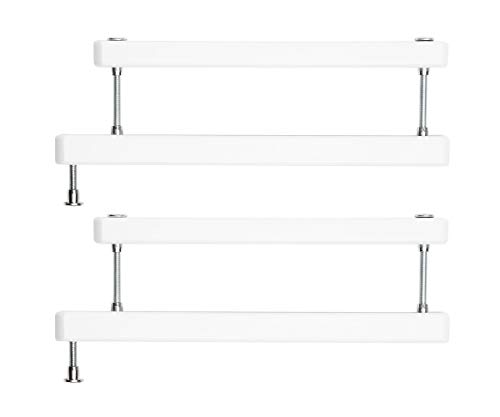 Geuther - 2725ZK+ WE in weiß, Zusatzklemme für Tür- und Treppenschutzgitter, TÜV geprüft
