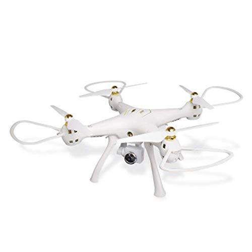 ZHCJH Dron WiFi con cámara HD de 720P, Control por Voz, cuadricóptero RC de Video en Vivo de Gran Angular con retención de altitud, con Sensor de Gravedad, despegue/Aterrizaje con una tecla, Blanco 1