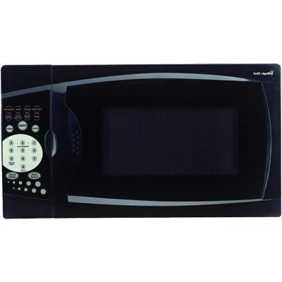 OKSLO 0.7 cu ft countertop microwave, black