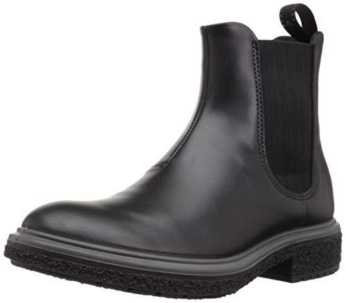 ECCO Crepetray Hybrid M Chelsea Boots, Schwarz