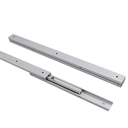 10 pairs Roller Drawer Slides Drawer Runners Guide Drawer Runners Bottom Fix Metal White Size 500mm 10 X Mprofi MT/®