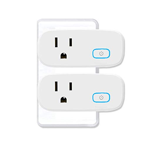 Zigbee Smart Plug 15A can be Used with Alexa Google Home (Requires Hub) SmartThings Hub Voice Pairing Smart Switch You can remotely Control Home appliances Through Alexa Device