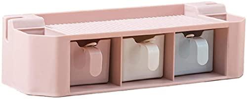 Kruidendooscontainer: Kruidenpot Zoutstrooier Dispenser Nagelvrije Kruidendoos Combinatieset Keuken Drie-raster Kruidendoos Kruidenschudder Kruidenfles