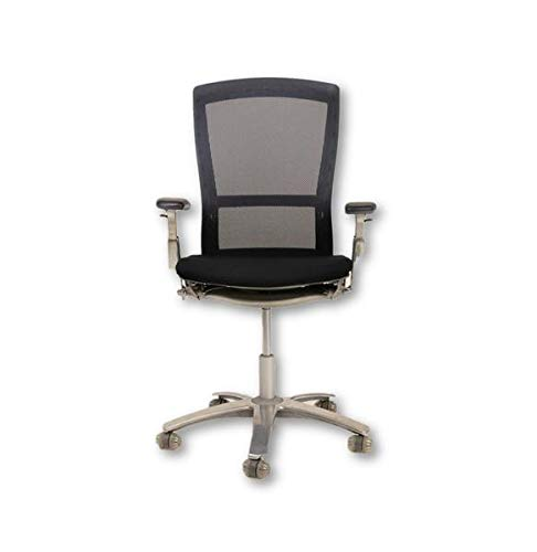 Knoll Life Used Chair New Black Seats