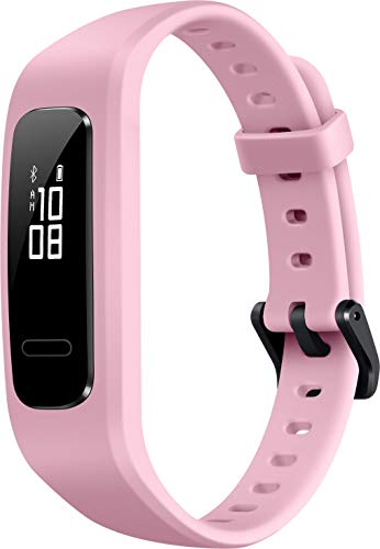 Huawei Band 3e Fitness Armband, Ultra-leicht, wasserdicht, Anti-lost, mit 6-Achsen-Sensor, Display 1,27 cm (0,5 Zoll) für iPhone Android Handy, pink