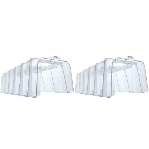 Garantia 645050 Sunny Pflanztunnel für die Aussaat, Kunststoff, 105 x 40 x 30cm (2 Stück)