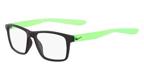 Nike 5002 Injected Sonnenbrille Matte Black/Green Unisex Erwachsene Mehrfarbig, Standard