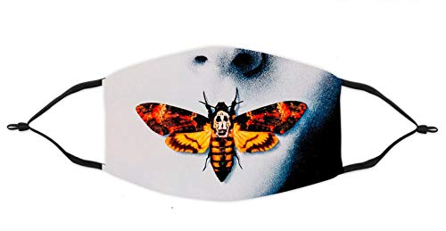 Death Head With Moth Face Mask Silence Of The Lambs Moth Face Mask