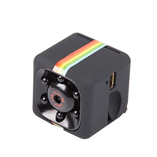 LKYBOA Inalámbrica Oculta pequeñas cámaras de Seguridad Tiny 1080P HD Mini WiFi Inicio niñera CAM visión Nocturna cámara de Interior...