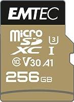 Emetc SPEEDIN' microSD クラス10 V30 UHS-I U3 (256GB)