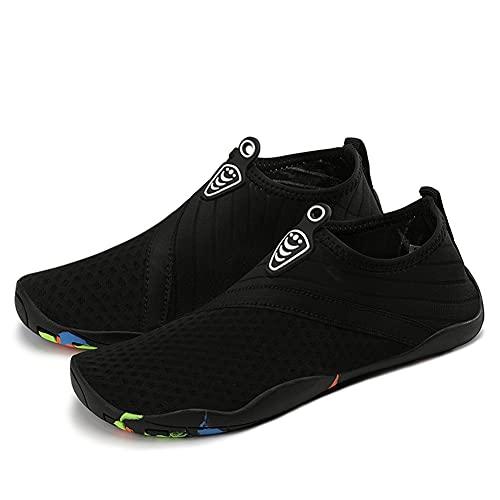 Générique Chaussures d'eau Hommes Femmes séchage Rapide Piscine Pieds Nus Sports Nautiques Surf Plage Aviron plongée en apnée lac plongée sous-Marine Chaussures de Yoga Chaussettes