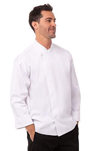 Chef Works A598-S Tours Cool Vent Unisex Kochjacke, Größe S, Weiß
