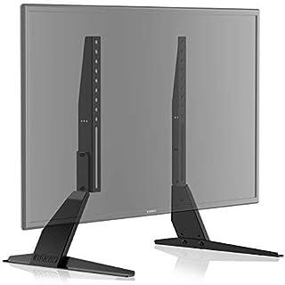 FITUEYES Tabletop TV Stand/TV Legs for 23-42 Inch LCD LED Plasma Flat Screen Tilt & Height Adjustable TT04701MB
