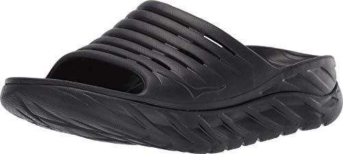 HOKA ONE ONE Mens ORA Recovery Slide 2 Black/Black Sandal - 10