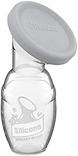 Haakaa Gen 1 Silicone Breast Pump with Leak-Proof Silicone Cap, 4 oz/100 ml, BPA PVC and Phthalate Free