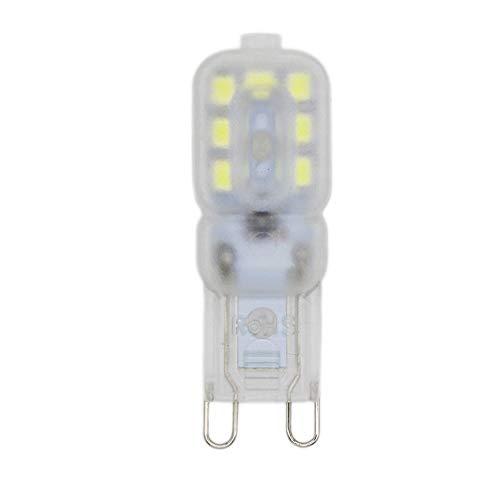 Lampadina LED G9, 14 x 2835 LED SMD/2,5W, sostituisce lampadine alogene da 20W, luce bianca fredda, 6000K, G9, 220V, classe di efficienza energetica A++