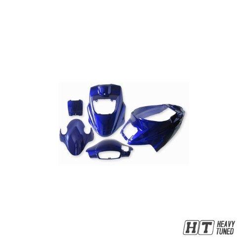 Verkleidungsset StylePro für PGO Big Max Hot 50 AC (5-teilig) Blau-Metallic neues Modell