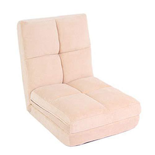 JenLn Lazy Sofa Fold out Futon Sofá Cama Individual Silla Plegable Plegable...