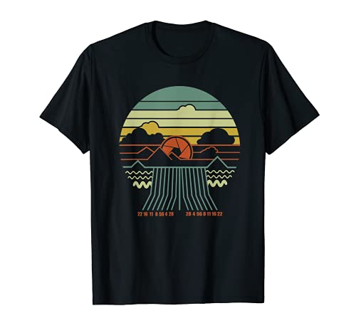 Landscape Photography Gift Photographing Camera Photo T-Shirt