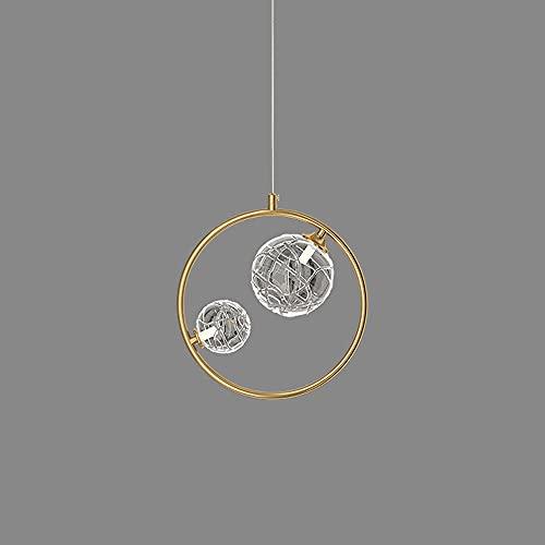NAMFSR G4/G9 fuente de luz lámpara colgante de lujo lámpara de cobre nórdico lámpara con colgante moderno minimalista Droplight comedor bar bar contador colgante techo iluminación