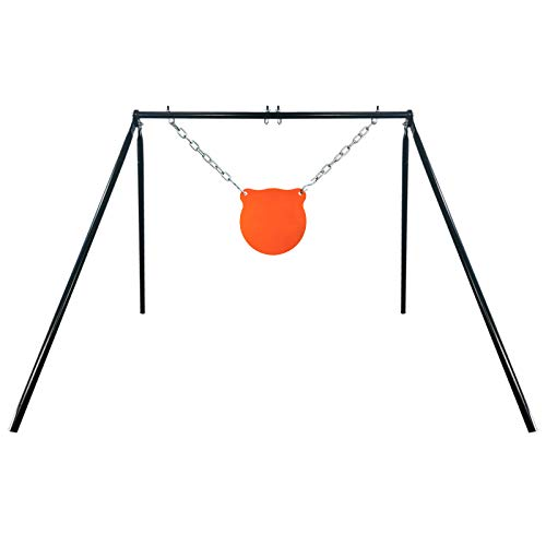 Highwild Steel Target Stand AR500 Shooting Target System (Stand, Mounting Kit & 10' Gong)